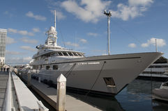 Yacht in San Diego Stock Photo
