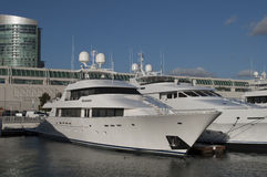 Yacht in San Diego Royalty Free Stock Photography