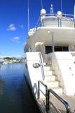 Yacht. Schongebiet-Bucht-internationale Bootsshow 2013 Lizenzfreies Stockfoto