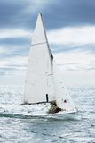 The yacht on sea. Stock Image