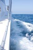 Yacht at Sea Stock Photography