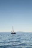 Yacht on sea Royalty Free Stock Photo