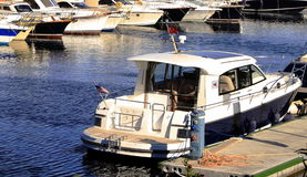 Yacht services royalty free stock image