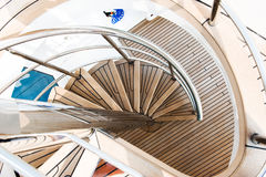 Yacht stairs Royalty Free Stock Photography