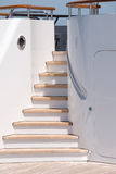 Yacht Stairs. 60 Million Dollar Yacht Stairs Stock Photos