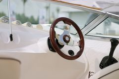 Yacht Steuerung Stockbilder