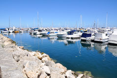 Yacht-Stift: Hillarys-Boots-Hafen Lizenzfreie Stockfotografie