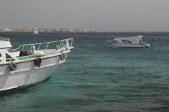 Yacht sulla banchina Fotografie Stock Libere da Diritti