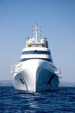Yacht superbe d'Andrei Melnichenko Images libres de droits
