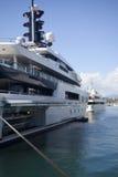 Yacht superbe du Monaco Images libres de droits