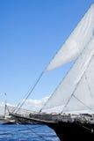 Yacht sur l'eau Photos libres de droits