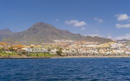 Yacht trip along Tenerife royalty free stock photos