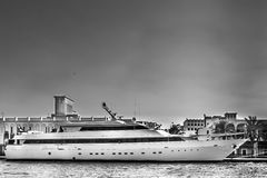 Yacht in UAE Stock Photography