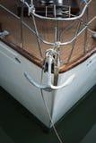 Yacht und Anker Lizenzfreie Stockfotografie