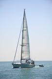 Yacht unter Segel Lizenzfreie Stockfotografie