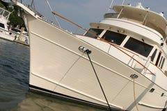 Yacht, winklig stockfoto