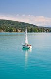 Yacht .Worthersee. Austria Stock Images