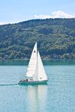 Yacht .Worthersee. Austria Royalty Free Stock Photo