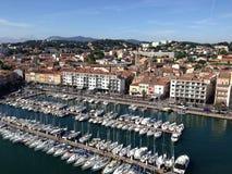 Yacht zone provence toulon france Royalty Free Stock Photos