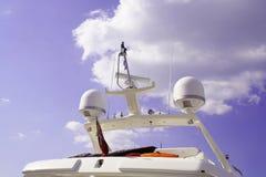 Yachtbrücke lizenzfreies stockfoto