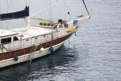 Yachtcloseup Royaltyfri Fotografi