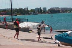 Yachtclub das Süddock Lizenzfreie Stockfotografie