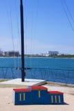 Yachtclub der Süden Stockfotos