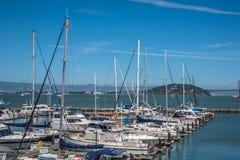 Yachtclub in San Francisco lizenzfreie stockfotos