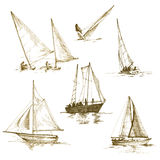 Yachten Lizenzfreies Stockbild