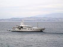 Yachten Arkivbild