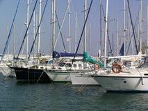Yachten Lizenzfreie Stockfotos