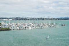 Yachten in Auckland, Neuseeland Lizenzfreie Stockbilder