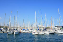 Yachten bei PortVell Lizenzfreie Stockfotografie