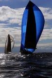 Yachten in der Ostsee Stockfoto