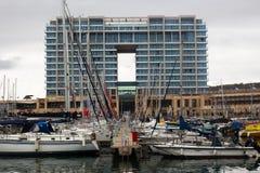 Yachten in Herzeliya Marina Israel Stockbild