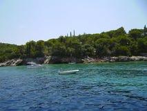 Yachten im adriatischen Meer Stockfotografie
