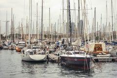 Yachten und Boote Stockfoto