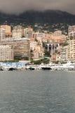 Yachter och lägenheter av Monaco Royaltyfri Bild
