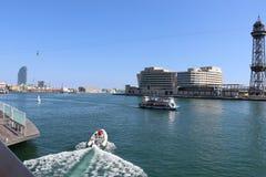 Yachter på havet fotografering för bildbyråer