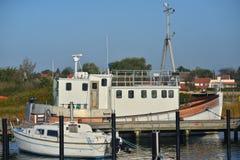 Yachthafen in Karrebaeksminde in Dänemark Stockfoto