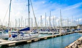 Yachthamn Arkivbilder