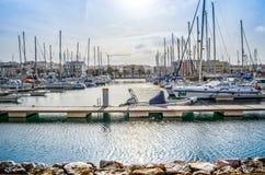 Yachthamn Royaltyfri Fotografi
