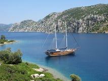 yachting моря Стоковые Изображения