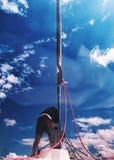 yachting стоковая фотография rf