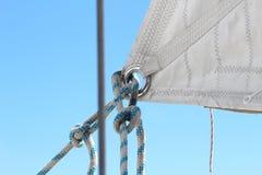 yachting яхты ворота парусника веревочки детали стоковые изображения