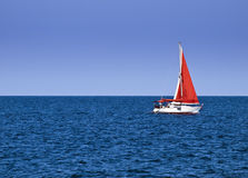 Yachting Royalty Free Stock Images