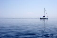 Yachting Royalty Free Stock Photography