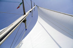 Yachting royalty free stock image