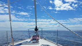 yachting royalty-vrije stock foto