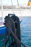 Yachting Anhängevorrichtung Lizenzfreie Stockfotos